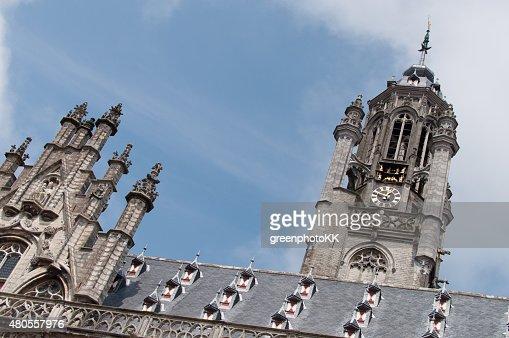 Stadhuis Middelburg, Niederlande : Stock Photo