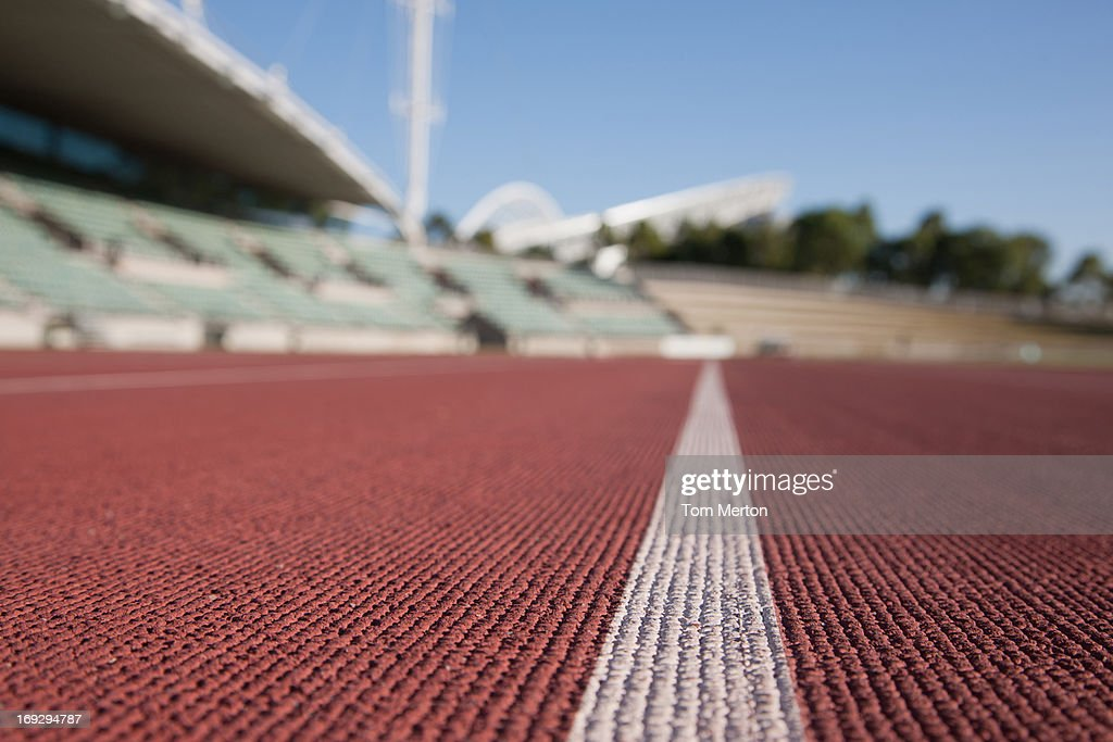 Stadium and racetrack