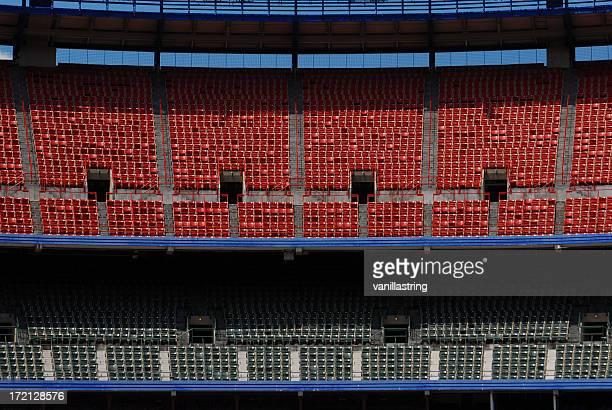 Leer bleechers Stadium