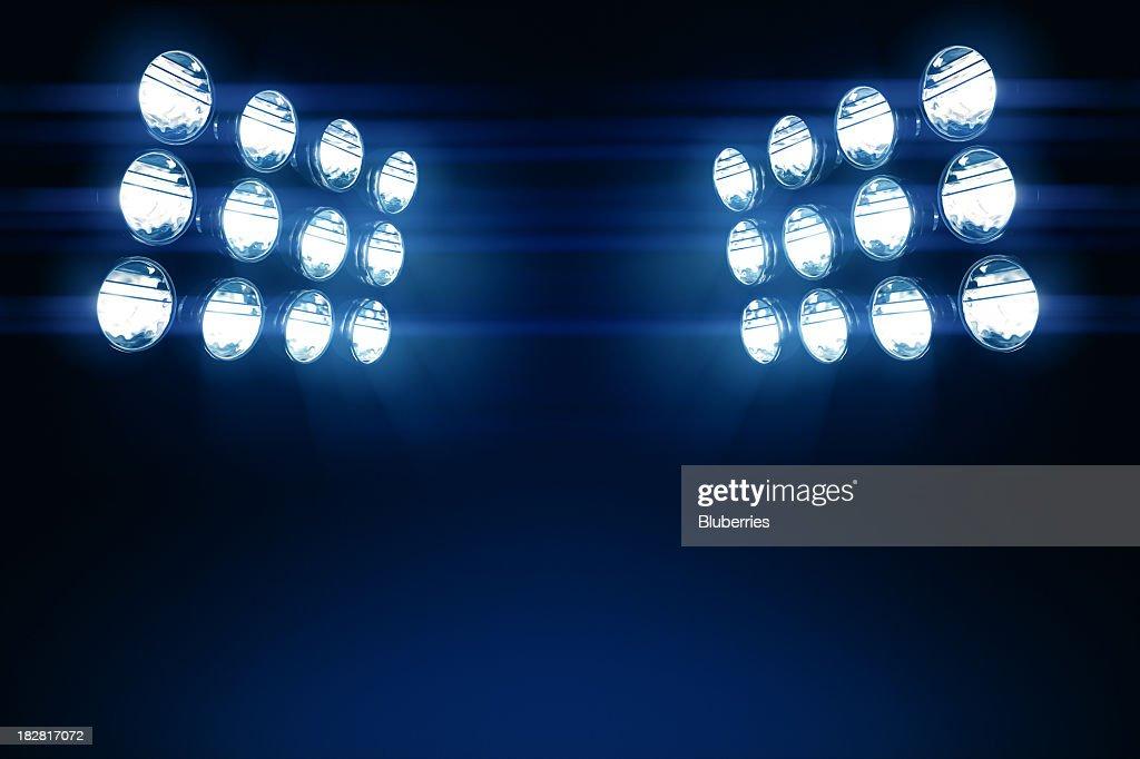 Stadium Lights Copy Space