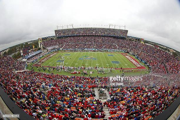 A stadium view in Orlando's Florida Citrus Bowl as South Carolina takes on Wisconsin in the Capital One Bowl on Wednesday Jan 1 in Orlando South...
