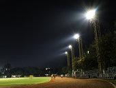 Staduim at night