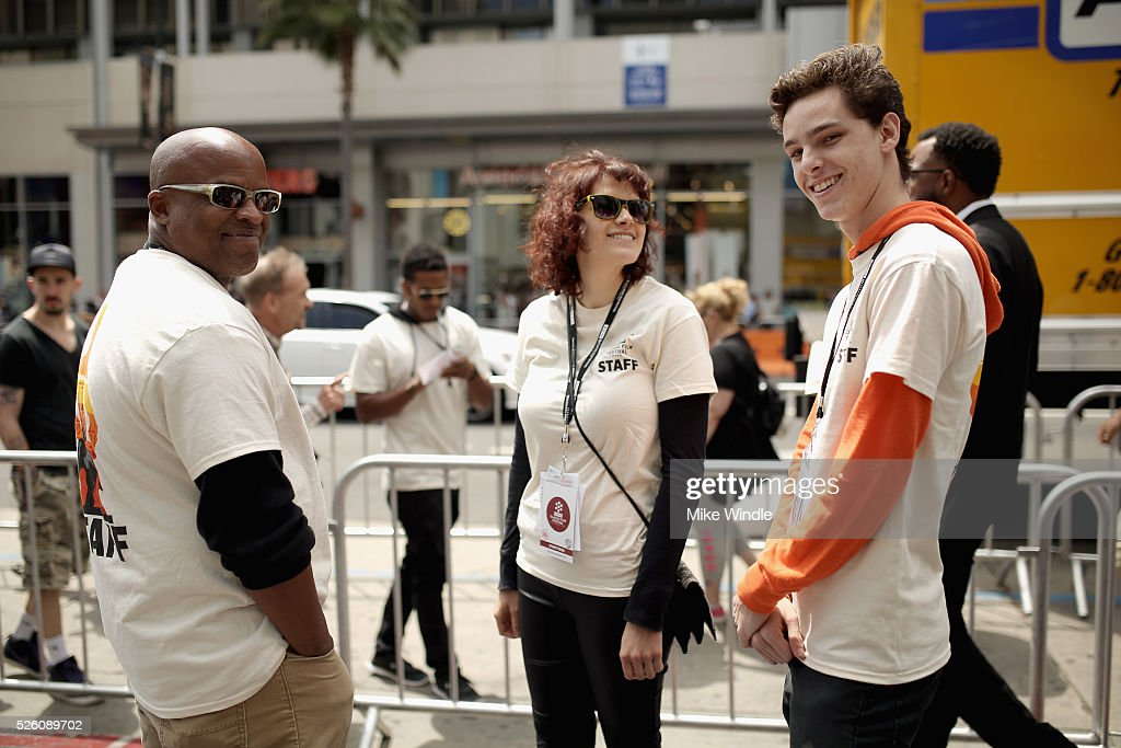 Staff attend day 2 of the TCM Classic Film Festival 2016 on April 29, 2016 in Los Angeles, California. 25826_008
