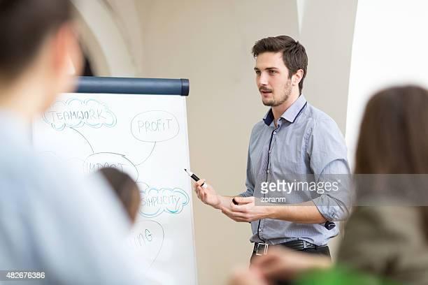 スタッフの会議