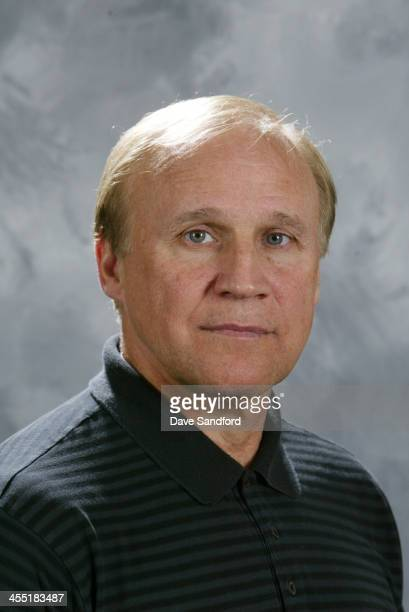 NHL staff member Colin Campbell poses for his official headshot for the 20072008 season on September 13 2007 at the Toronto Airport Marriott Hotel in...