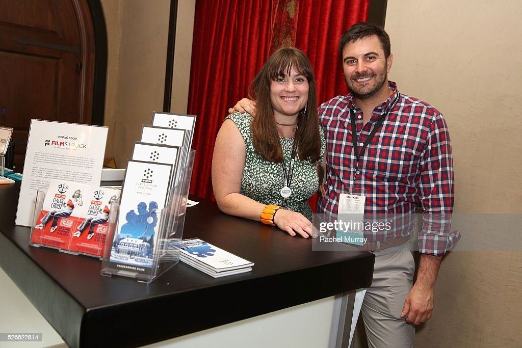 Staff members attend Cari Beauchamp book signing during day 3 of the TCM Classic Film Festival 2016 on April 30, 2016 in Los Angeles, California. 25826_007