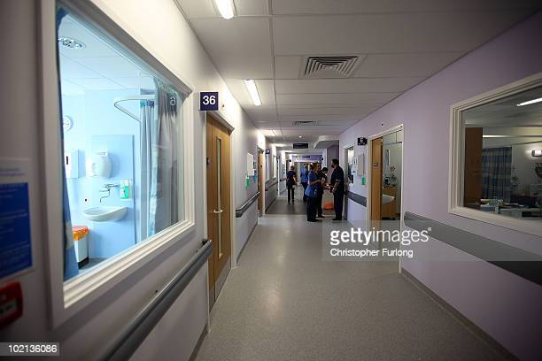 Staff move in to the wards of the new Queen Elizabeth super hospital on June 16 2010 in Birmingham England Patients have begun to move into the new...