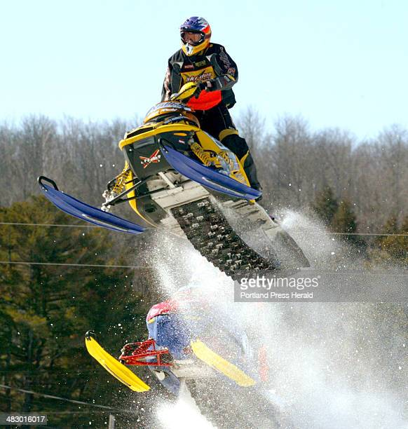 Denver Big Air Event Heiditown: Snocross Stock Photos And Pictures
