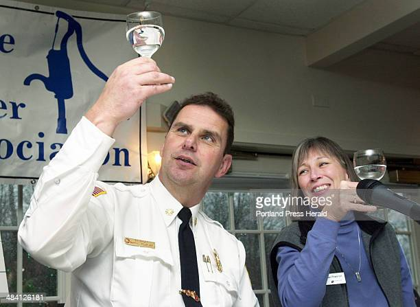 Staff Photo by Jack Milton Wednesday December 1 2004 Darrel Fournier Freeport Fire Chief and one of the judges in the Maine Rural Water Association's...