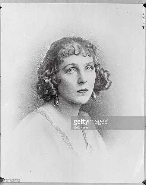 Stage and film actress Diana Manners daughter of the Duke and Duchess of Rutland and wife of Lord Alfred DuffCooper debuted at the Royal Opera House...
