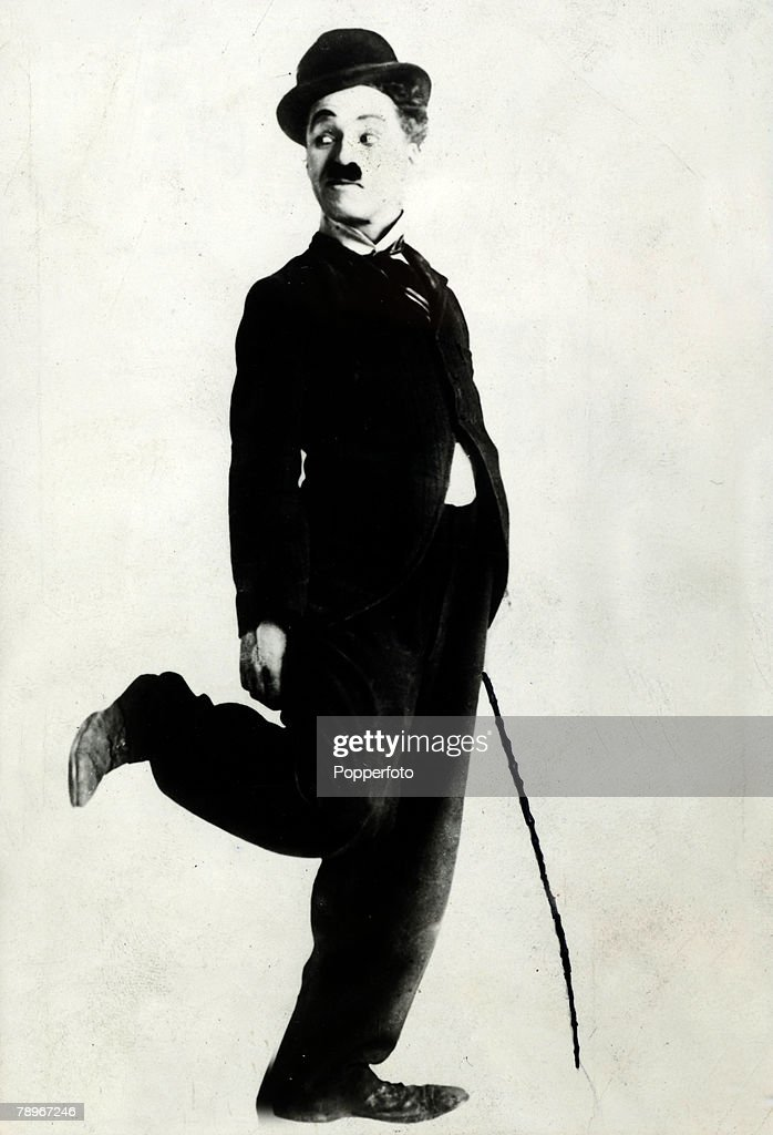 Stage and Screen, Cinema, Personalities, circa 1910's, <a gi-track='captionPersonalityLinkClicked' href=/galleries/search?phrase=Charlie+Chaplin&family=editorial&specificpeople=70006 ng-click='$event.stopPropagation()'>Charlie Chaplin</a>, born in London in 1889, who became a legend in the silent film era, starring in many comedy films, He had gone to New York in 1910 with Fred Karno's vaudeville troupe and his career blossomed afterwards, He married his 4th wife Ooona in 1943 and they had 8 children, and died in his sleep of old age in 1977