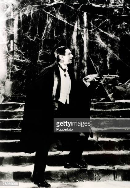 1931 Hungarian born actor Bela Lugosi in the 1931 production of 'Dracula'