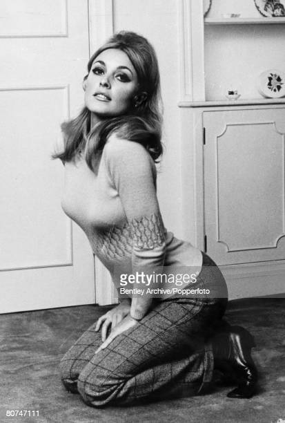 1960's American actress Sharon Tate pictured in London Sharon Tate was one of the victims in the Charles Manson murders when followers of Manson...