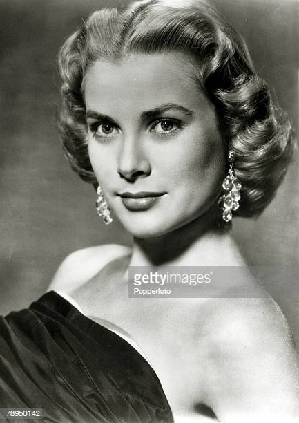 early 1950s American actress Grace Kelly portrait Grace Kelly born in Philadelphia was a cool elegant beauty who starred in such films as 'High Noon'...