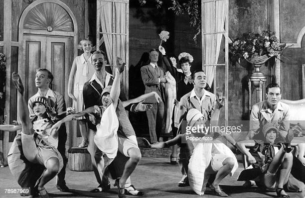 1954 Musical 'The Boyfriend' at the Embassy Theatre London A dance routine in the play which starred Anne RogersAnthony Hayes Hugh Paddick Joan...