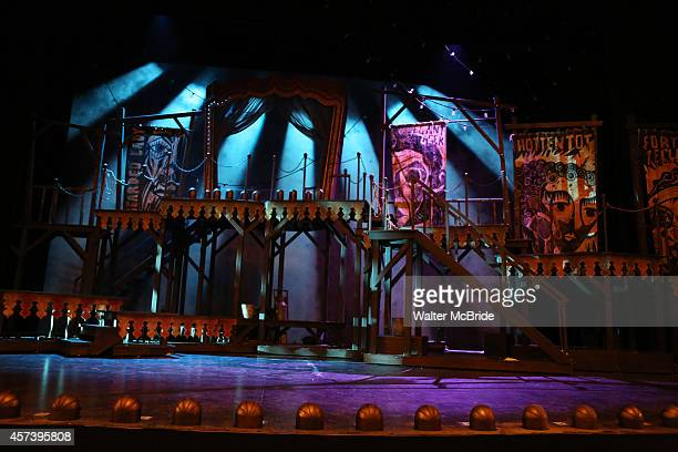 Stage and set during the 'Side Show' Press Preview at the St James Theater on October 17 2014 in New York City