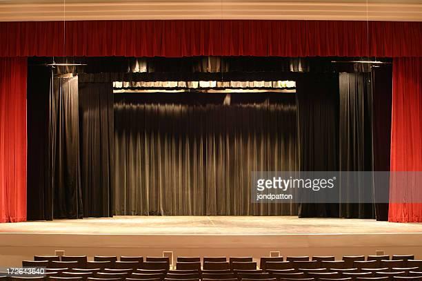 Bühne Vorhang 2