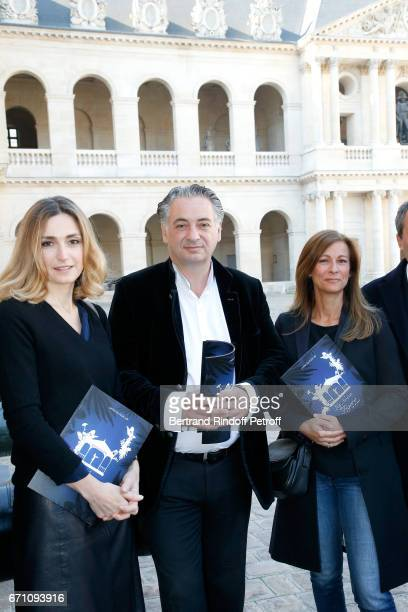 Stage Director of the Opera Julie Gayet Music Direction of the Opera Yannis Pouspourikas and Music Booking Orchestra of the Opera Anne Gravoin attend...
