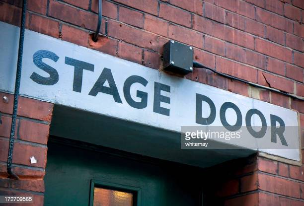 Stage door - Round the back of a theatre