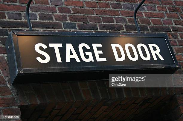 Bühneneingang-Theater