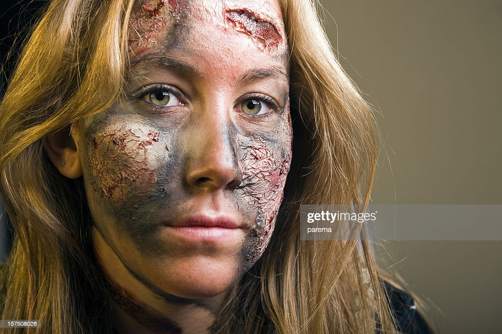 Stage make up : Stock Photo