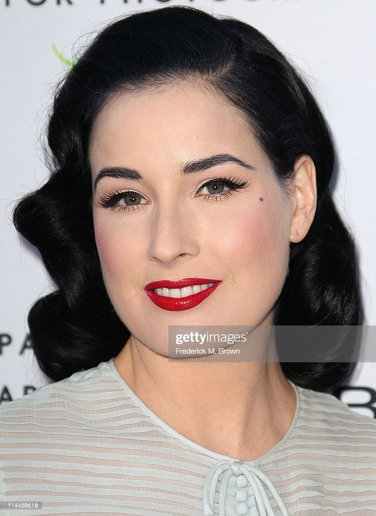 Stage performer Dita Von Tesse attends the Opening Night of 'Beauty Culture' at The Annenberg Space For Photography on May 19, 2011 in Century City, California.