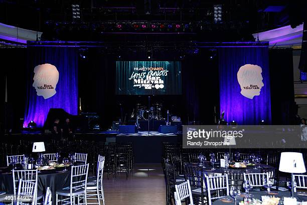 Stage setup for Hilarity for Charity's Annual Variety Show James Franco's Bar Mitzvah benefitting the Alzheimer's Association presented by Funny Or...