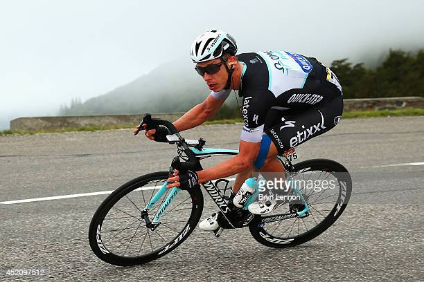 Stage winner Tony Martin of Germany and Omega Pharma QuickStep in action during the ninth stage of the 2014 Tour de France a 170km stage between...