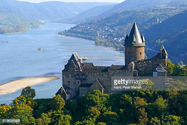 Stahleck Castle, Bacharach, Rhine Valley, Germany