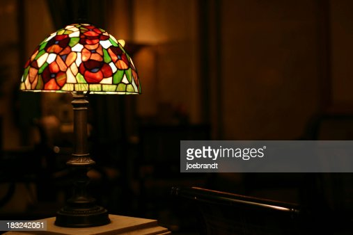 Stained Glass Antique Lamp