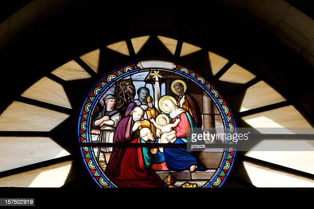 Stained Glass Window in Bethlehem