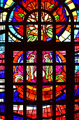 Window, Stained Glass, Abstract, Church, Religion