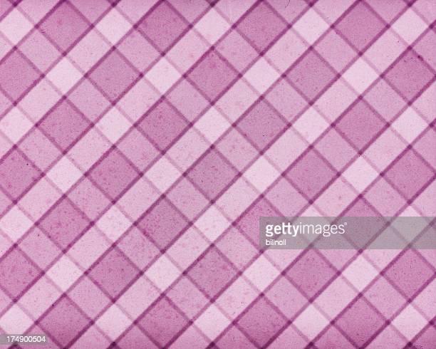 紙に格子柄のパターン染色
