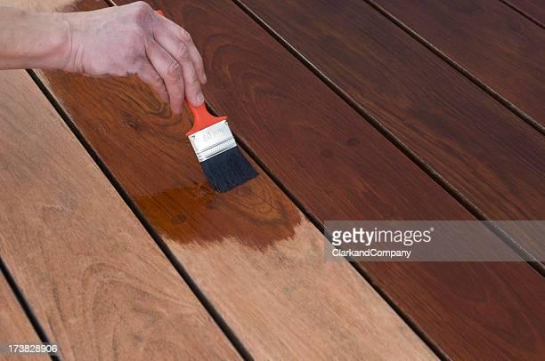 Taches terrasse en bois plancher terrasse
