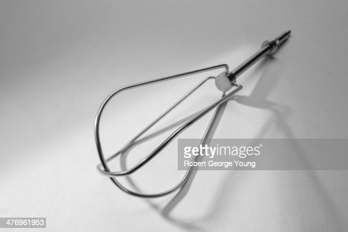 Stainless steel beater of a hand mixer