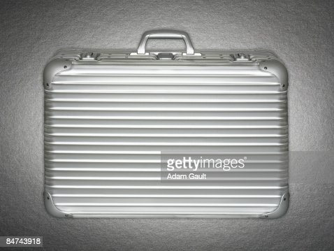 Stainless steel briefcase