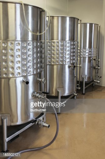 Stainless Steel Containers : Stock Photo