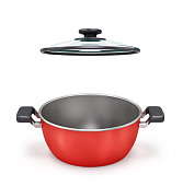 pan isolated on white background. 3d illustration