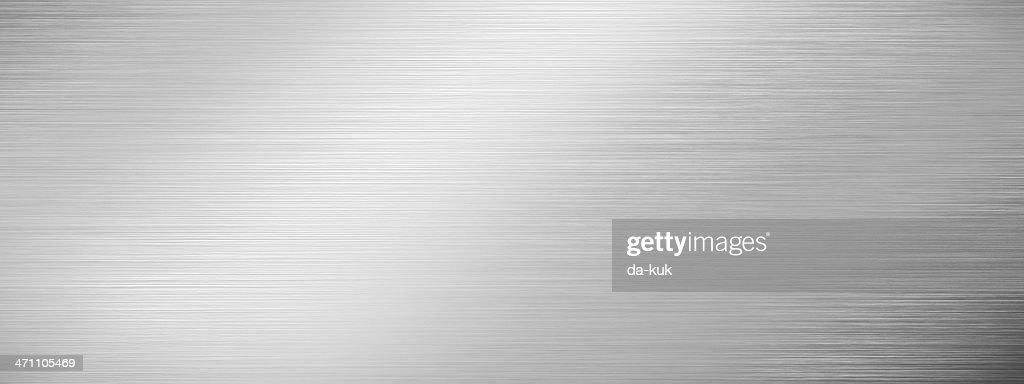 texture en acier inoxydable : Photo