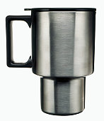 Stainless steel thermos travel coffee cup mug