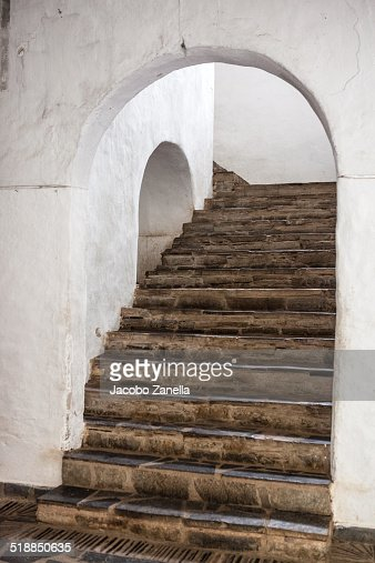 Staircase in a cloister