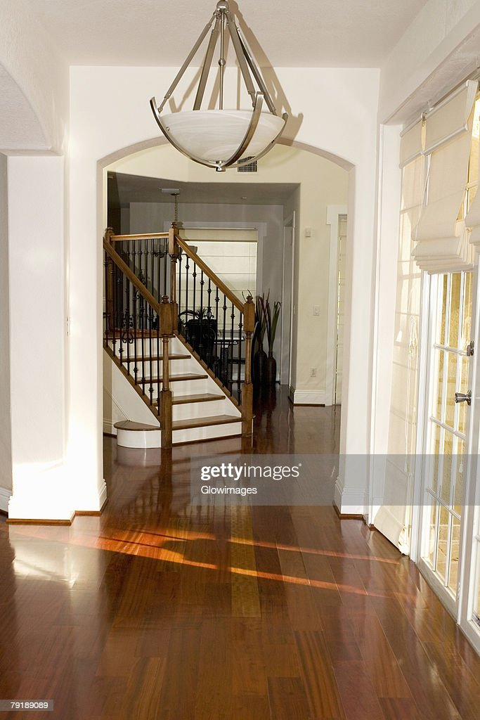 Staircase in a house : Foto de stock