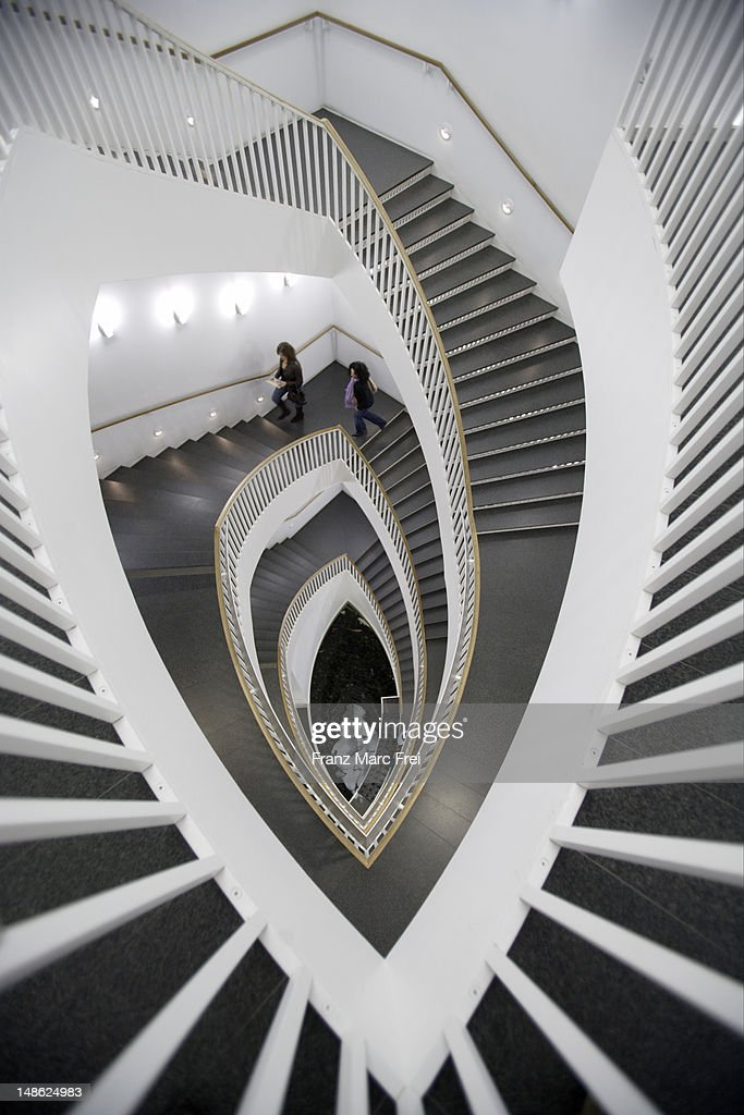 Staircase in Museum of Contemporary Art. : Stock Photo