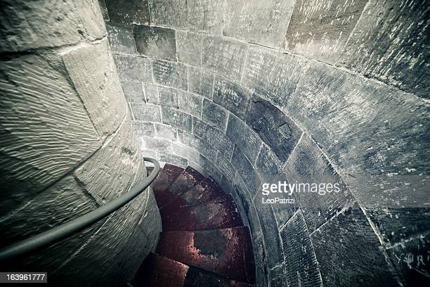 Staircase inside a Castle