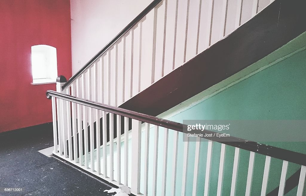 Staircase Railing In Building