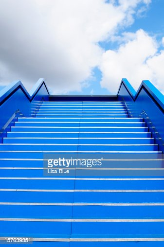 Staircase to Success Blue Sky, Berlin.