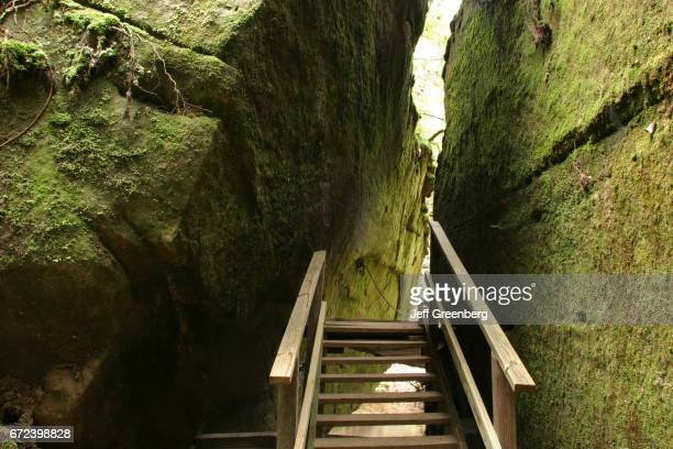 Stairs at Aaron Burr's Hideout