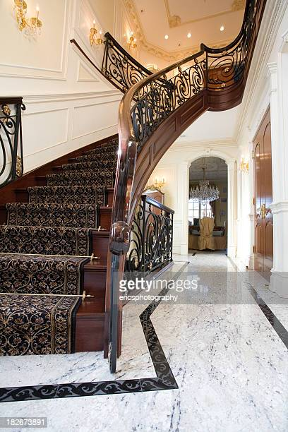 Stairs in a villa