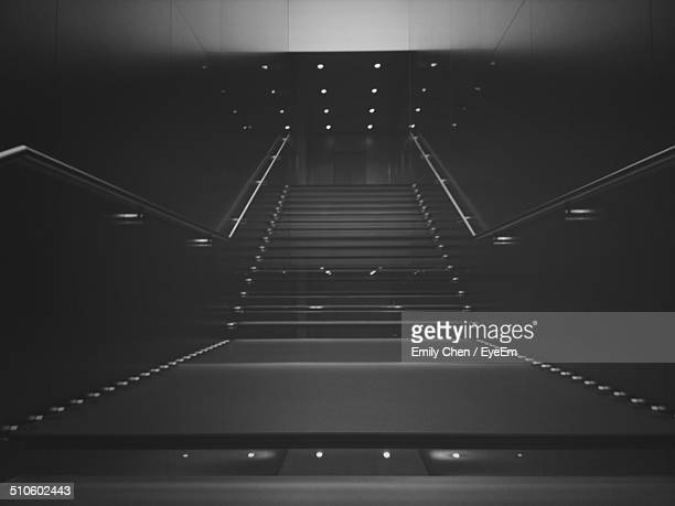 Stairs in modern building