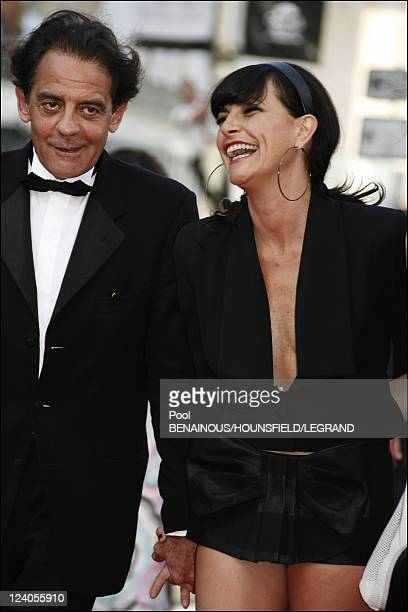 Stairs 'Promise me this' at the 60th Cannes International Film Festival In Cannes France On May 26 2007 Jean Francois Lepetit and Lio